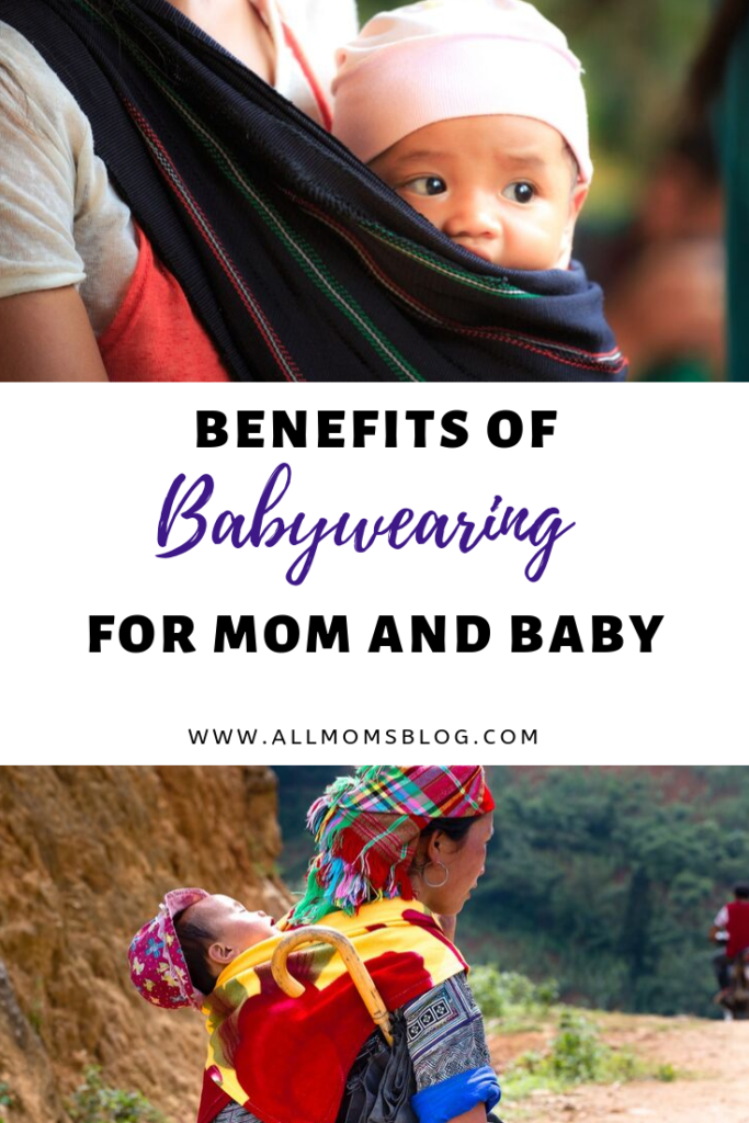 babywearing for mom and baby