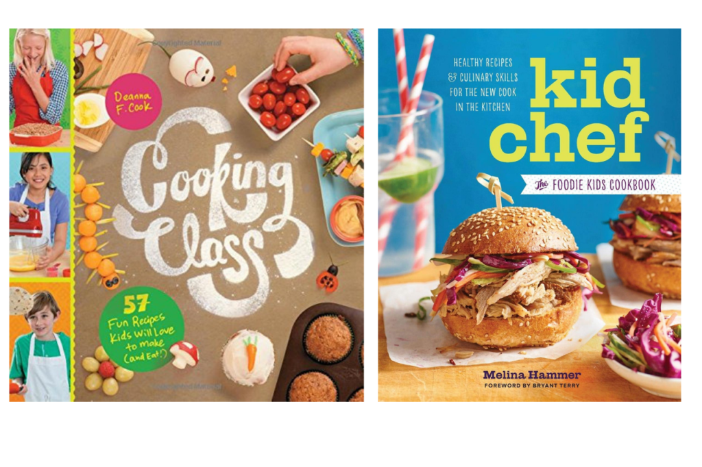 kids chef book- non toy gift ideas for kids
