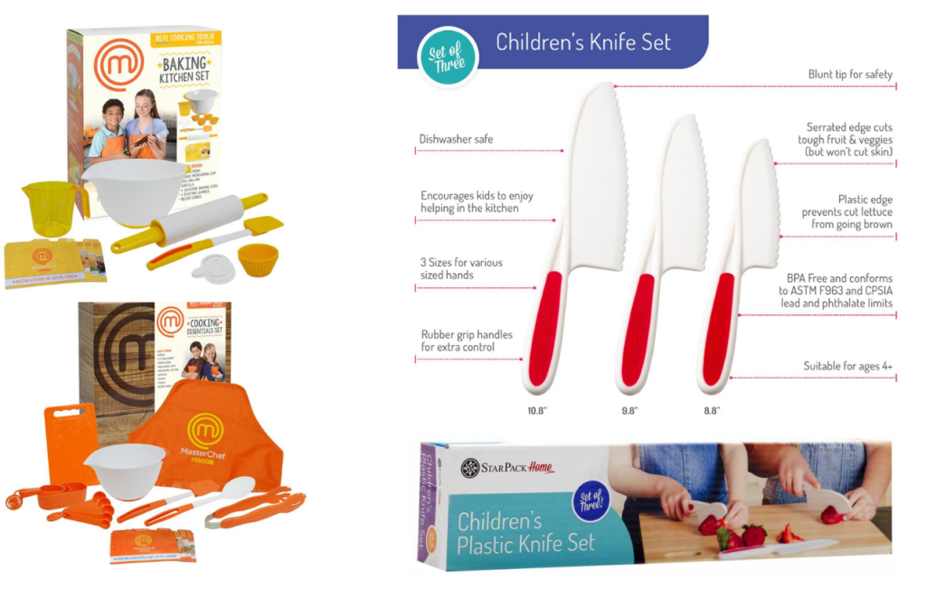 cutlery set- non toy gift ideas for kids