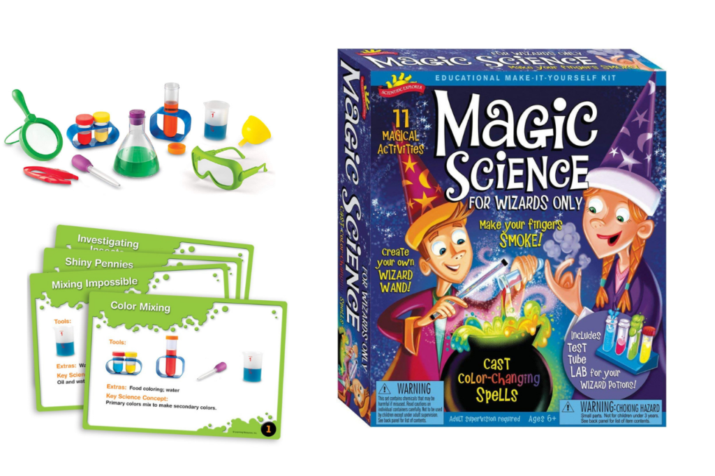 magic science wizard kit for kids of every age