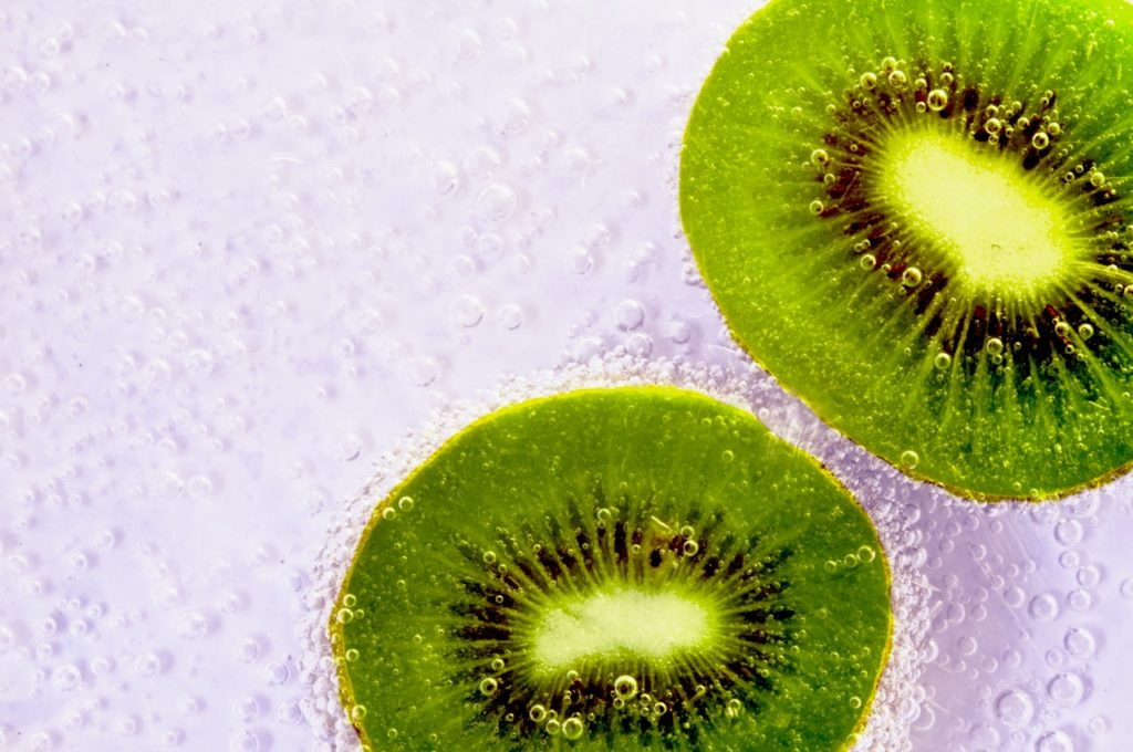 green kiwi before bedtime