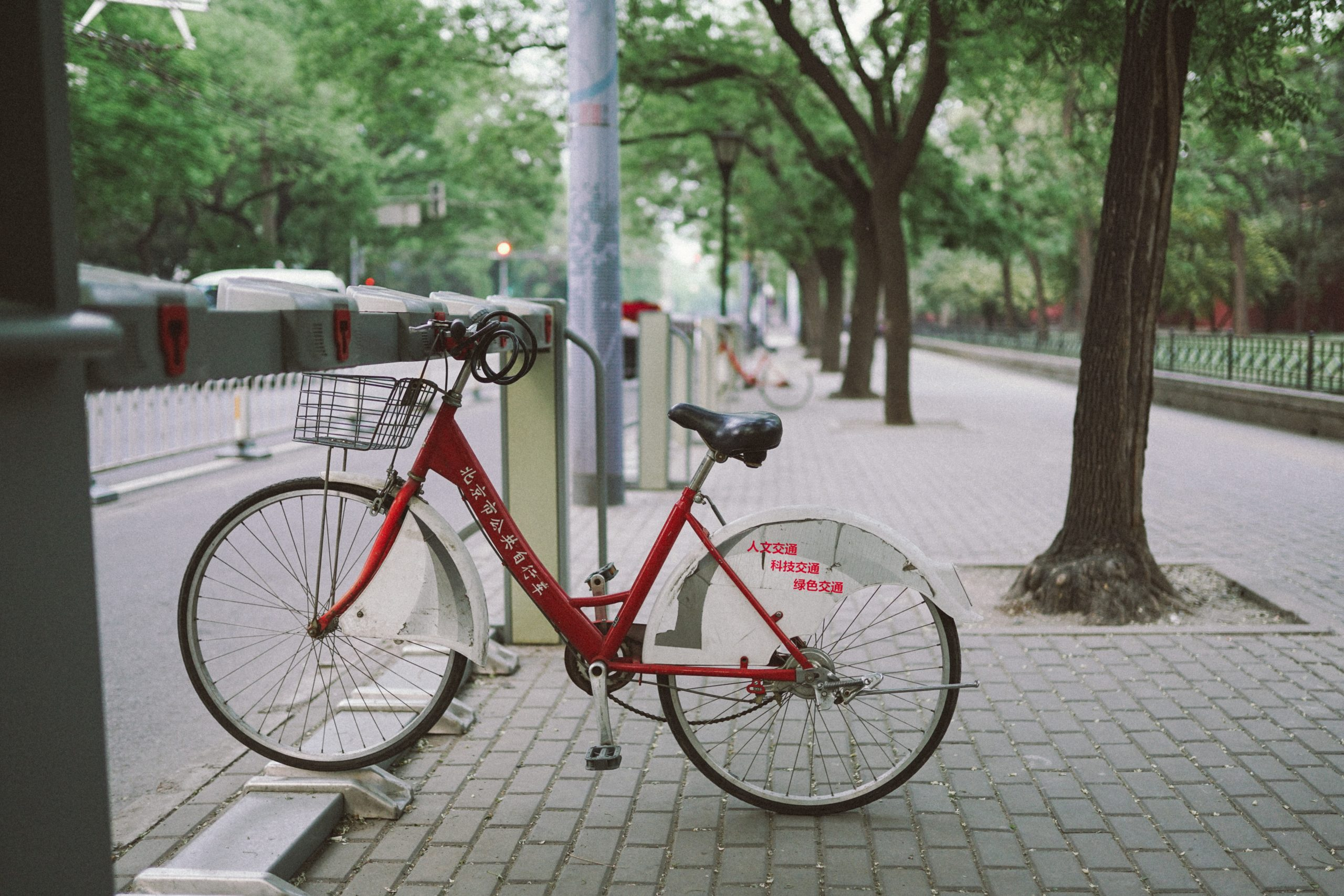 a bicycle - frugal living tips for moms in 2020