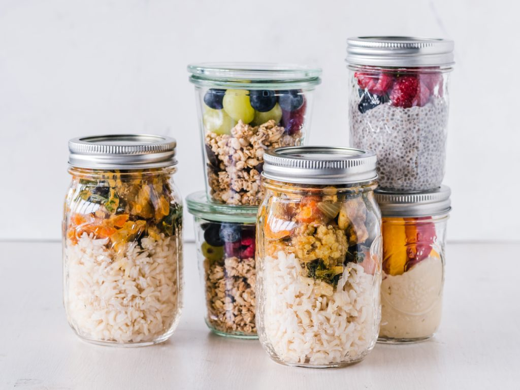 meal planning containers- frugal living tips for moms in 2020