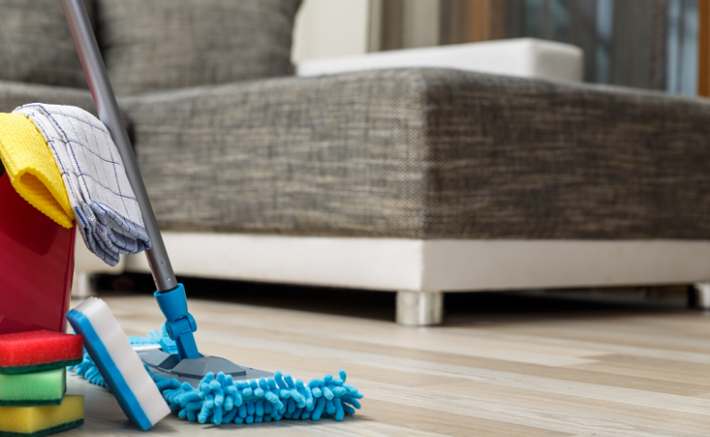 offer a cleaning service