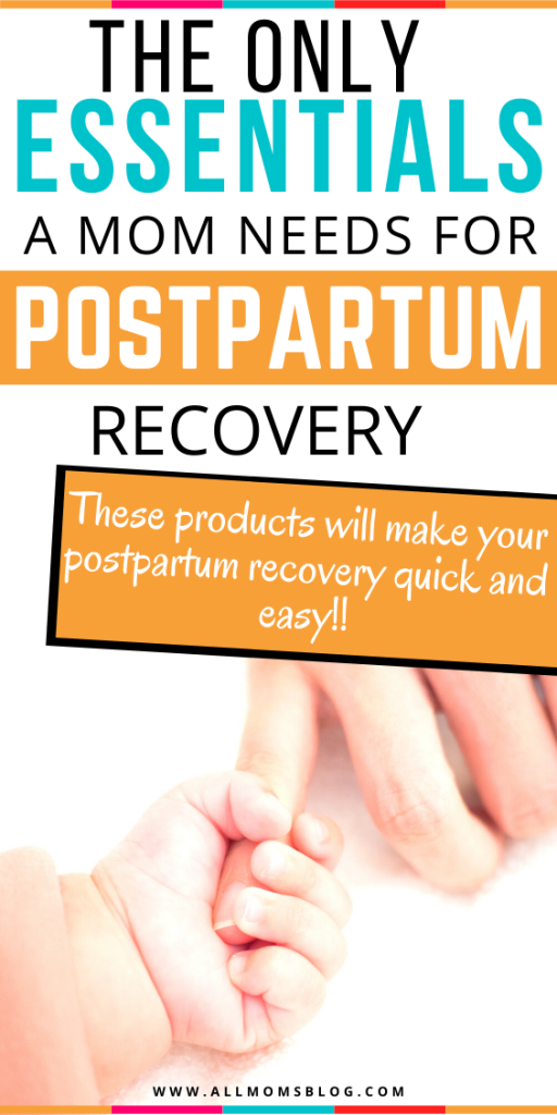 postpartum must-haves for moms for quick recovery after baby. best postpartum essentials for moms