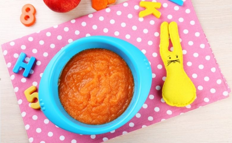 best baby foods to help constipation -  basic mashes
