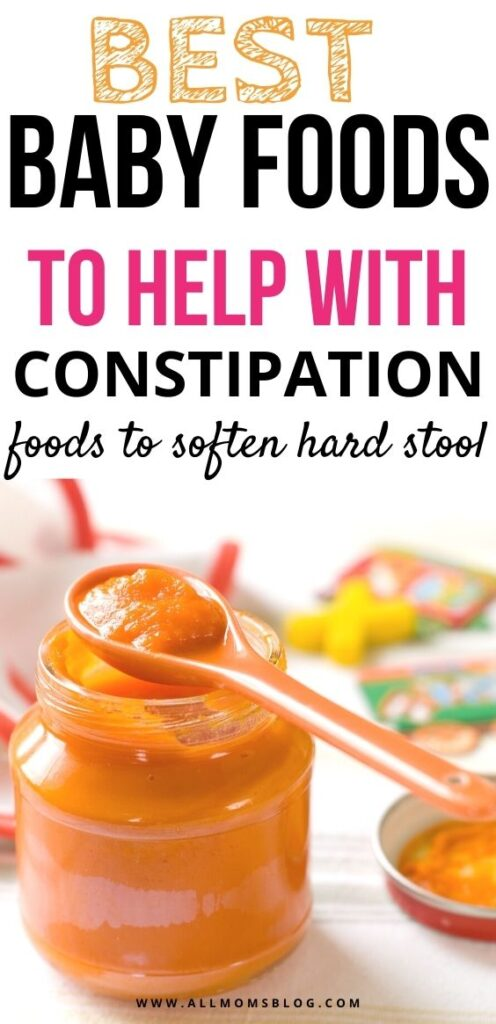 best baby foods to help with constipation