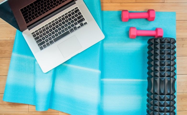 here are a few workout ideas busy moms can do at home