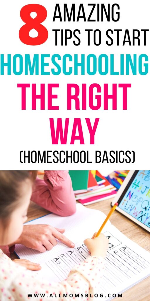 how to teach kids at home - homeschooling basics